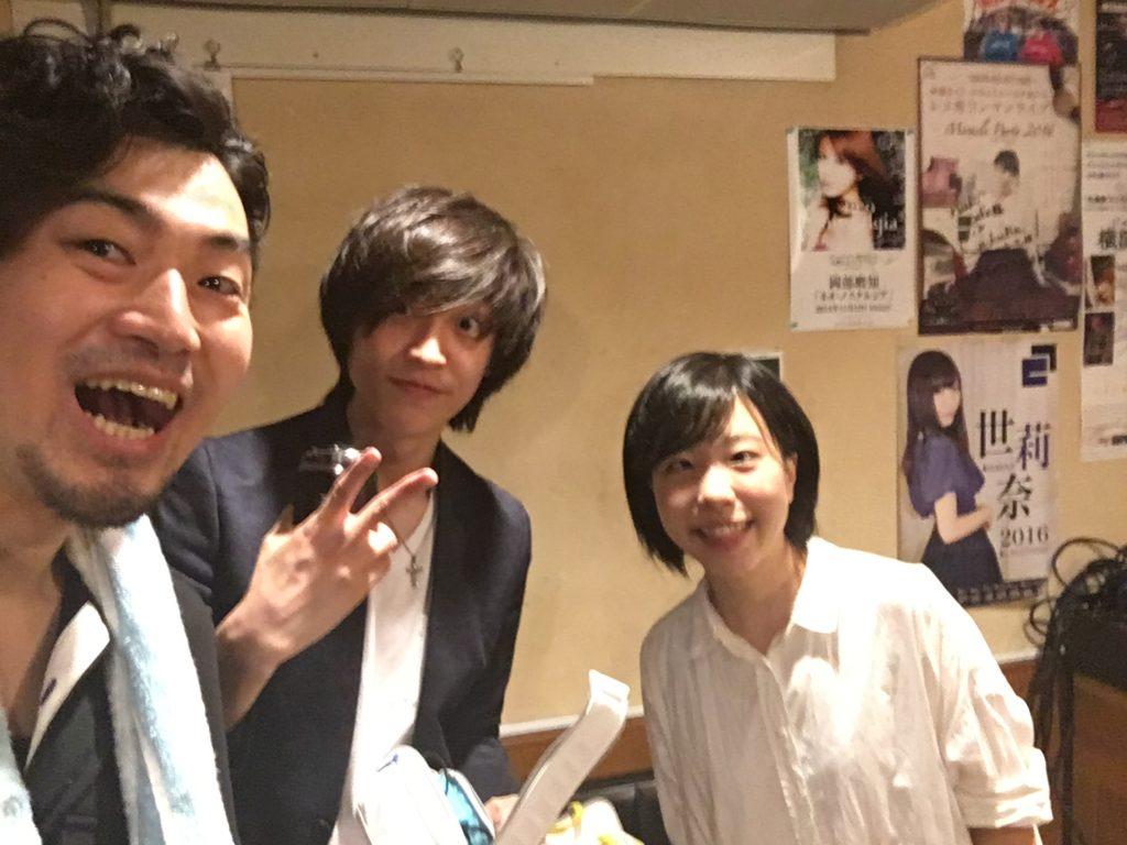 岡村マサヒロ&小林未季ライブでした〜!